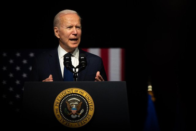 Joe Biden will tell leaders at this weekend's G7 Summit that gains made since the Good Friday Agreement must be protected (Getty Images)