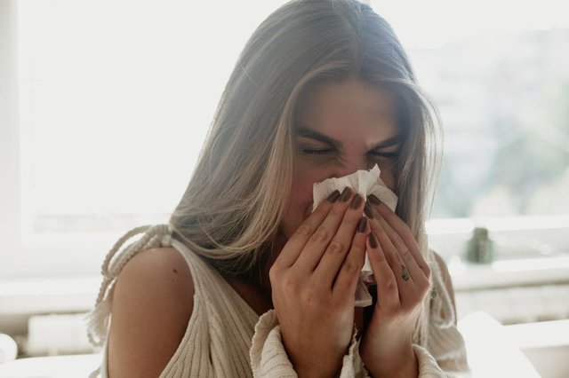 Hay fever season affects many people throughout the UK every year, with high pollen counts causing watery eyes, runny noses and itchy throats (Photo: Shutterstock)