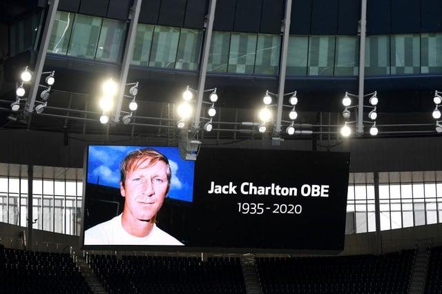 Jack Charlton died in 2020.
