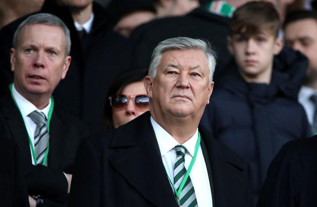 """Police say the fire at Peter Lawwell's house was """"deliberate"""" (Getty Images)"""