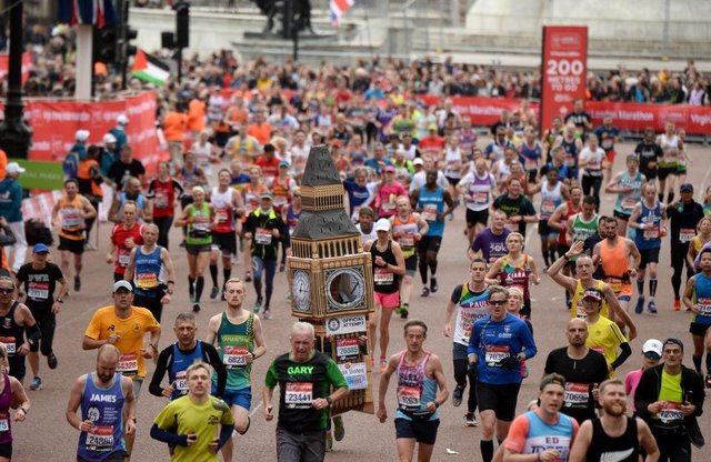 The London Marathon is due to take place this autumn (Getty Images)