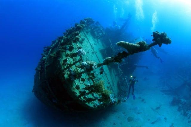 UNESCO estimates there are around three million wrecks on the global sea bed.