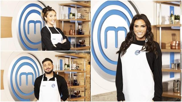 Katie Price will join Megan McKenna and Duncan James on Celebrity MasterChef 2021 (BBC)
