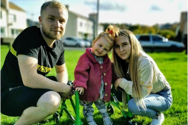 Thea's parents are fundraising with the dream of taking their daughter to the United States to receive specialist treatment (Photo: Kasey Watson)