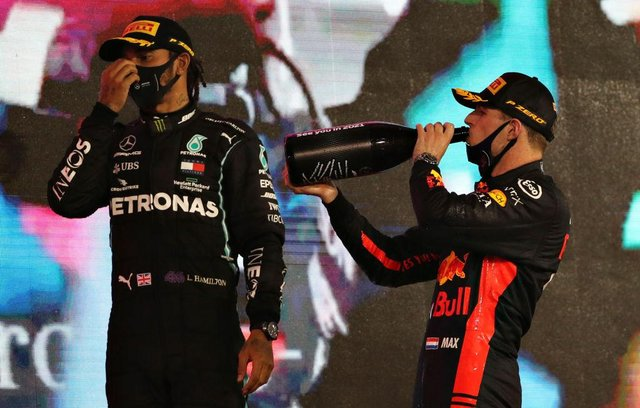 Max Verstappen of Red Bull Racing is hoping to taste victory in his battle with Mercedes' Lewis Hamilton this year.