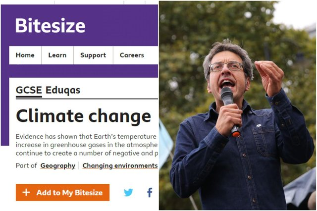 Journalist George Monbiot was among a number of people to criticise the BBC Bitesize page on climate change (Photo: Getty)