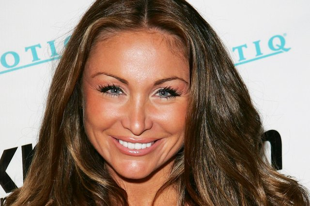 The former glamour model died in Spain in January this year (Photo: Getty Images)
