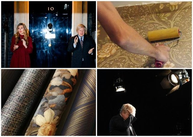 """Boris Johnson complained to aides that his partner was buying """"gold wallpaper"""", according to reports (Getty Images / Shutterstock)"""