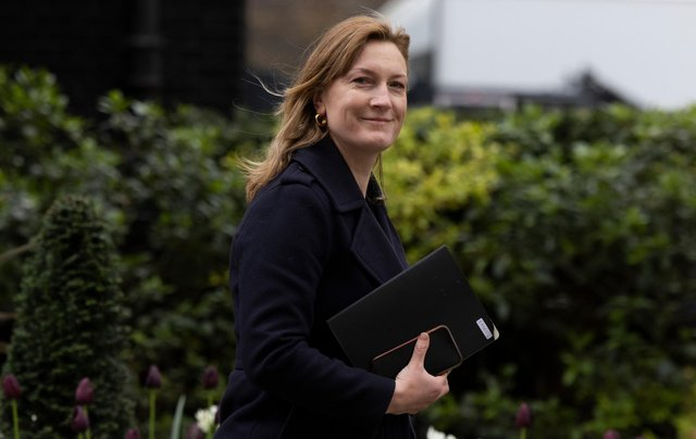 Ms Stratton has denied that Conservative Party funds were being used to cover the refurbishment costs (Photo: Getty Images)