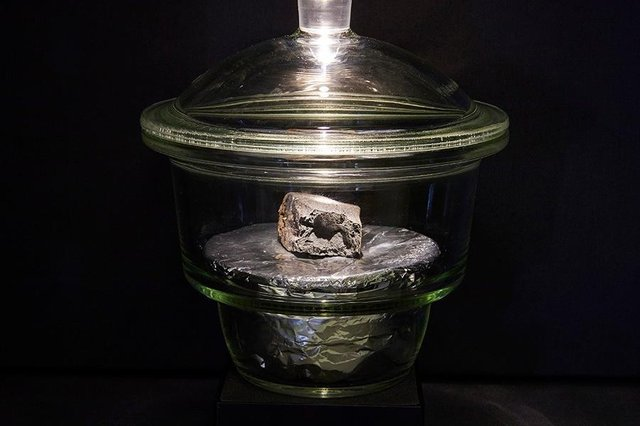 The meteorite will be on display from 17 May (Photo: Natural History Museum)