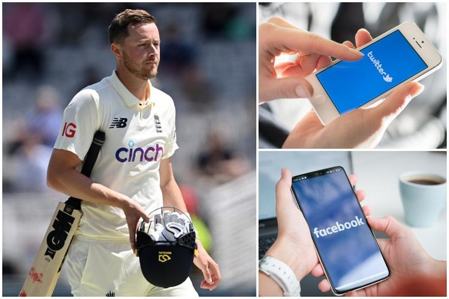 The England and Wales Cricket Board put out a statement following the emergence of offensive Tweets by cricketer Ollie Robinson (Photo: Shaun Botterill/Getty Images/Shutterstock)