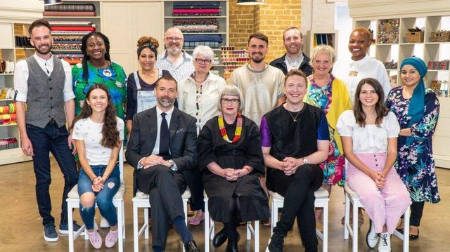 Twelve new sewers are set to battle it out to be crowned the Great British Sewing Bee