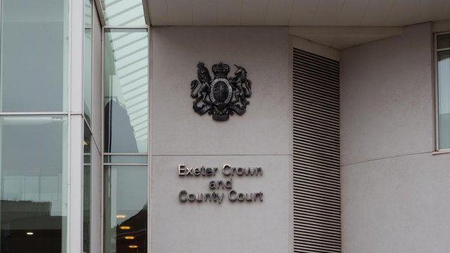 The case is taking place at Exeter Crown Court (Shutterstock)