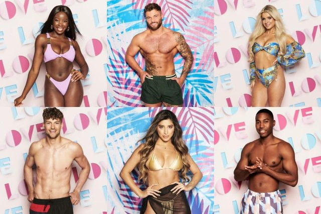 Top L-R: Kaz, Jake and Liberty. Bottom L-R: Hugo, Shannon, Aaron (Picture: ITV)