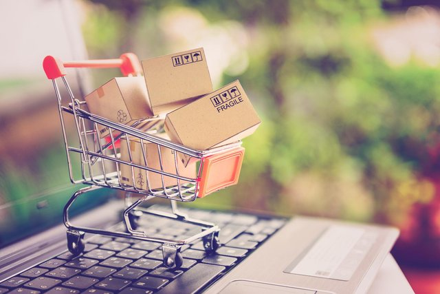 More than a third of overall retail sales went to businesses operating online in February - up from 20% a year ago before the Covid pandemic. (Pic: Shutterstock)