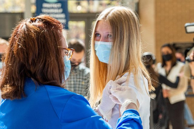 It is understood ministers are planning to make Covid jabs available for over 18s amid fears surrounding the Delta variant (Getty Images)