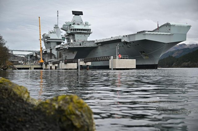HMS Queen Elizabeth is set for its first operational deployment (Getty Images)