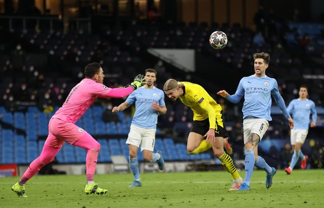 Chris Sutton has given his views on how Manchester City can get past Borussia Dortmund and make the Champions League semi-finals (Photo by Clive Brunskill/Getty Images)