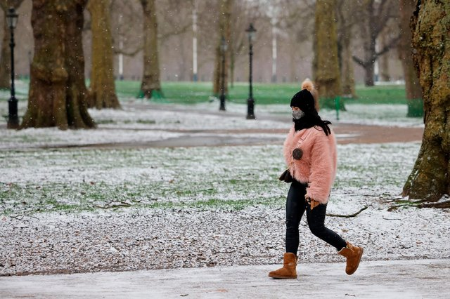 A yellow weather warning has been issued for Scotland on Thursday (6 May) (Photo: Getty Images)