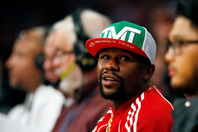 Boxer Floyd Mayweather has announced his return to the ring. (Pic: Getty Images)