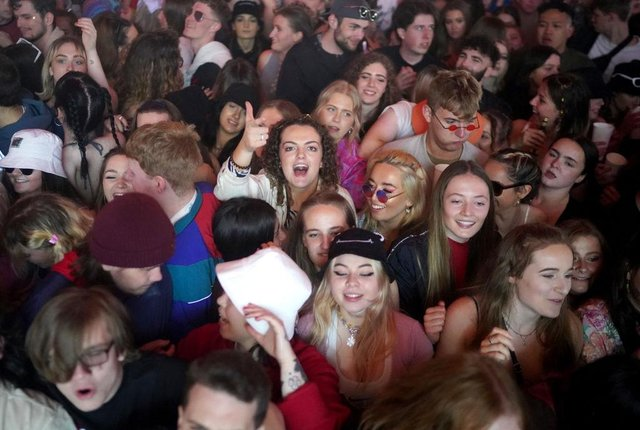 Concert-goers enjoyed a non-socially distanced outdoor live music event at Sefton Park at the beginning of May, as part of the national Events Research Programme (Picture: Getty Images)