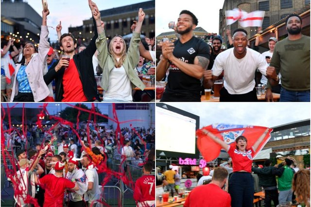 England fans across the country were delighted with the results on Saturday evening
