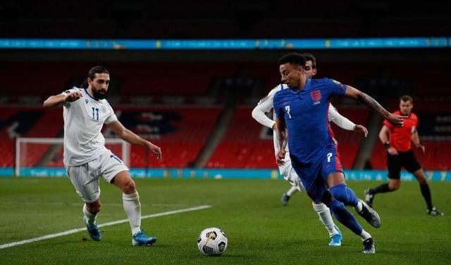 England midfielder Jesse Lingard (Photo by ADRIAN DENNIS/POOL/AFP via Getty Images)