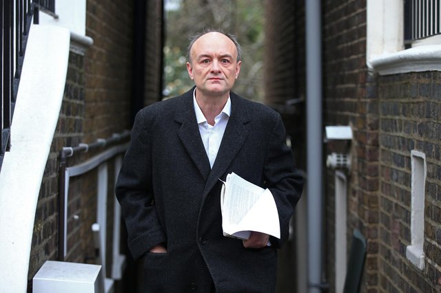 Dominic Cummings was the former chief advisor to the prime minister (Hollie Adams/Getty Images)