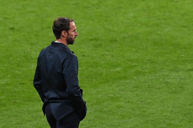 Gareth Southgate, Head Coach of England. (Photo by Facundo Arrizabalaga - Pool/Getty Images)