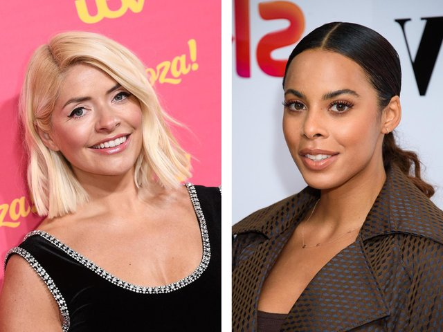 Holly Willoughby was replaced by Rochelle Humes on This Morning (Getty Images)