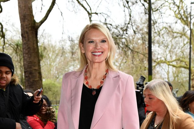 Anneka Rice has been crowned star baker in the final episode of The Great Celebrity Bake Off Stand Up To Cancer series.