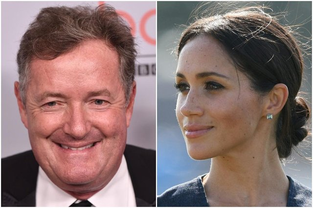 Piers Morgan has widely criticised Meghan Markle and Prince Harry following their interview with Oprah (Photos: Shutterstock)