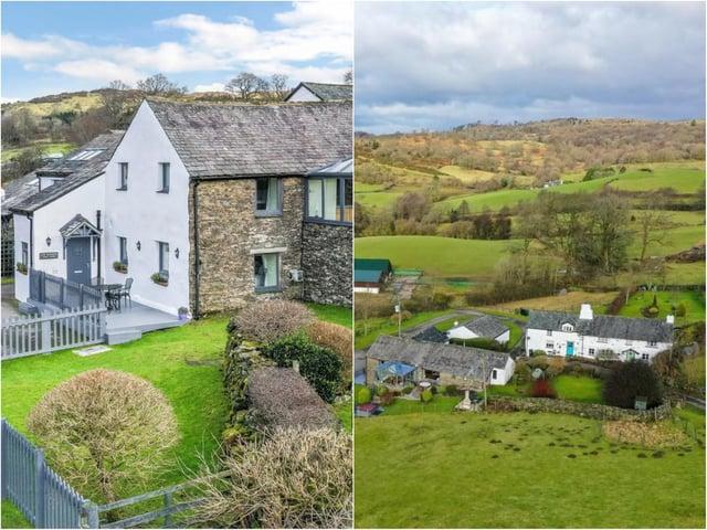 Low Shepard Yeat Farm is nestled in the rolling Cumbrian hillside.