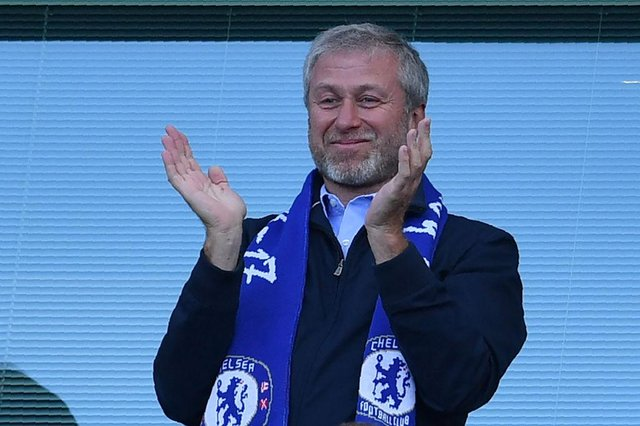 Chelsea's Russian owner Roman Abramovich (Photo by BEN STANSALL/AFP via Getty Images)