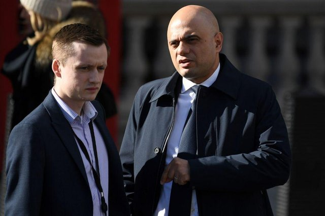 Sajid Javid to address the Commons as Health Secretary for first time today (Photo by DANIEL LEAL-OLIVAS/AFP via Getty Images)