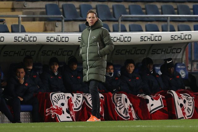 Julian Nagelsmann, head coach of Leipzig, is favourite to be the next Tottenham Hotspur manager.
