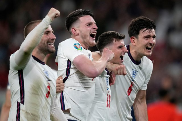 England duo make Euro 2020 intriguing stats-based team of the tournament