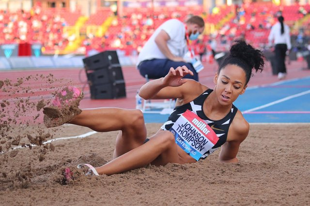 Athletes like Katarina Johnson-Thompson are likely to compete at Birmingham 2022. (Pic: Getty)