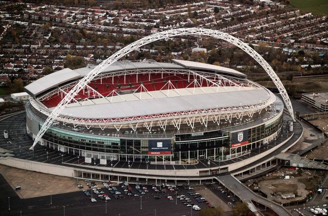 Wembley Stadium has been selected as the venue to host the Euro 2020 final. (Pic: Getty)