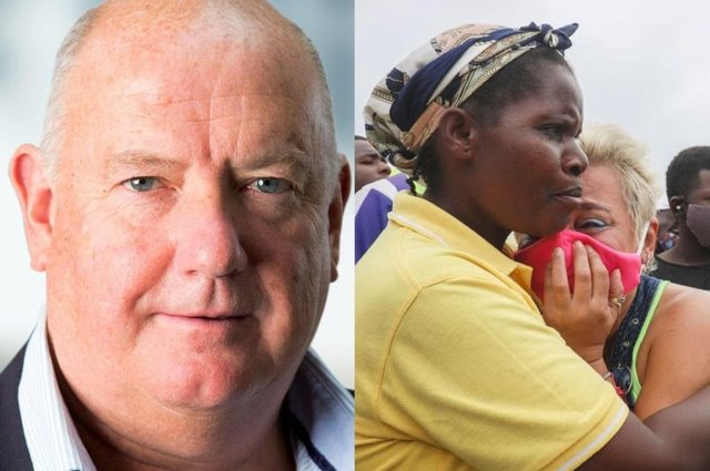 Philip Mawer is thought to have died during attacks on the Mozambique city of Palma (RA International / Getty Images)
