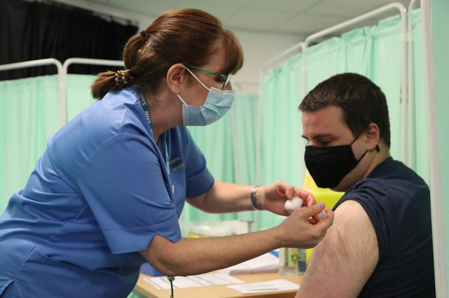 1.59 million people had received their first Covid vaccine in Wales by 11 April (Photo: Getty Images)