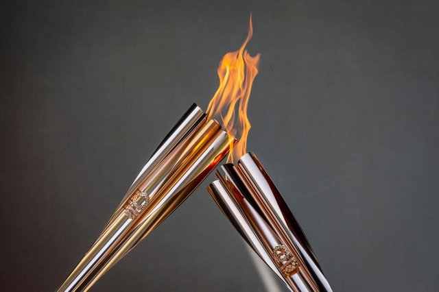 Olympic Torch Relay Celebration. (Photo by Yuichi Yamazaki/Getty Images)