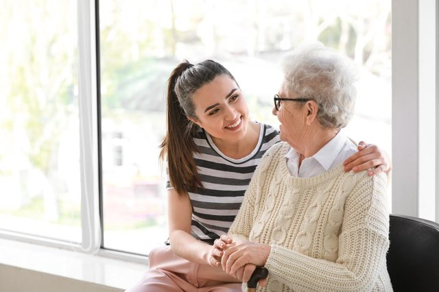 Care home residents in England will be allowed to nominate five regular visitors from 17 May (Photo: Shutterstock)
