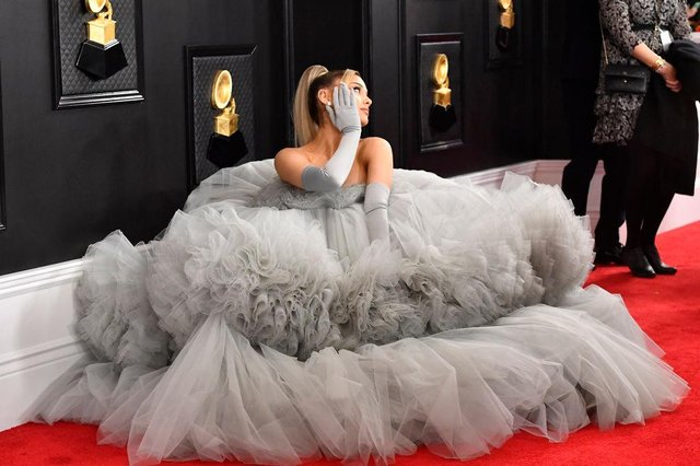 Ariana Grande marriesDalton Gomez in a secret, 'tiny and intimate' ceremony (Photo by Frazer Harrison/Getty Images for The Recording Academy)