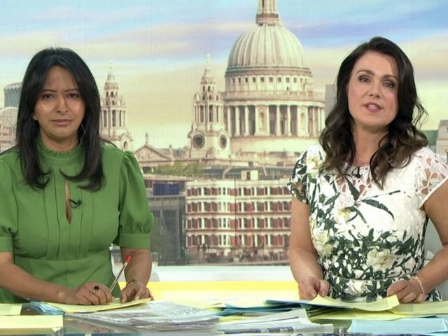 Ranvir Singh and Susanna Reid on GMB (ITV)