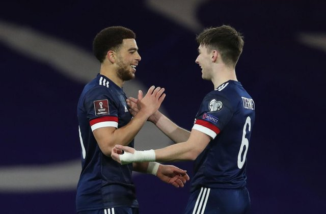 Che Adams and Kieran Tierney were two of the success stories from Scotland's World Cup qualifiers.