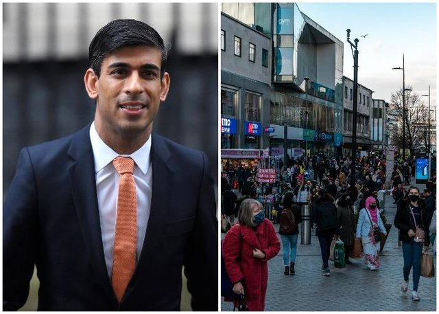 Rishi Sunak is said to bewilling to extend the ending of the lockdown roadmap by four weeks (Shutterstock and Getty Images)