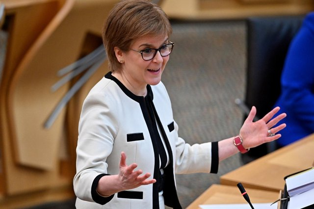 Nicola Sturgeon will address the public during her latest Covid lockdown statement (Getty Images)