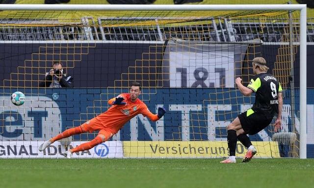 Erling Haaland of Borussia Dortmund. (Photo by Joosep Martinson/Getty Images)