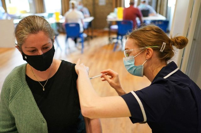 The NHS said it is not its policy to allow people to pick their vaccine (Photo: Getty Images)